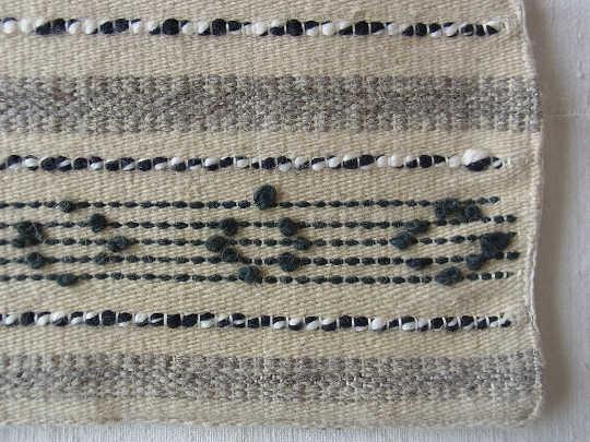 トランシルバニアのウールの織物のピロケース 54×41cm ge-232