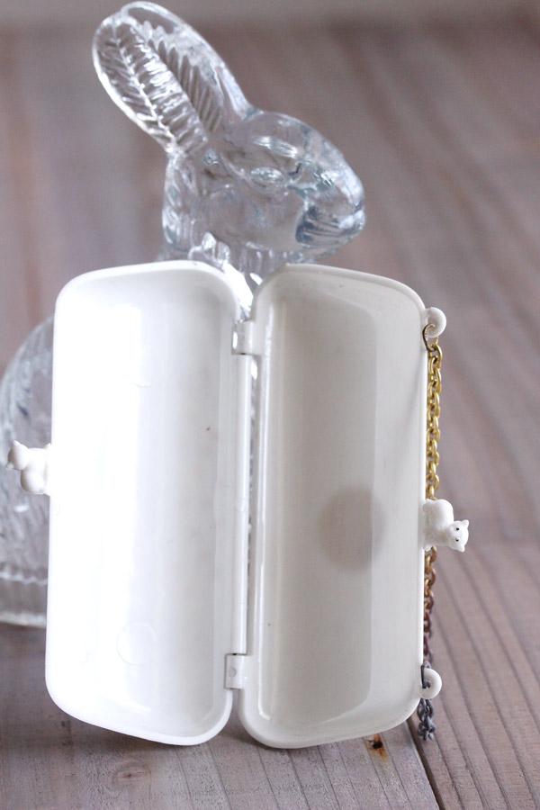 イギリスGANTOY社のプラスティック猫のバンドバッグ 1950-59年 ga-697