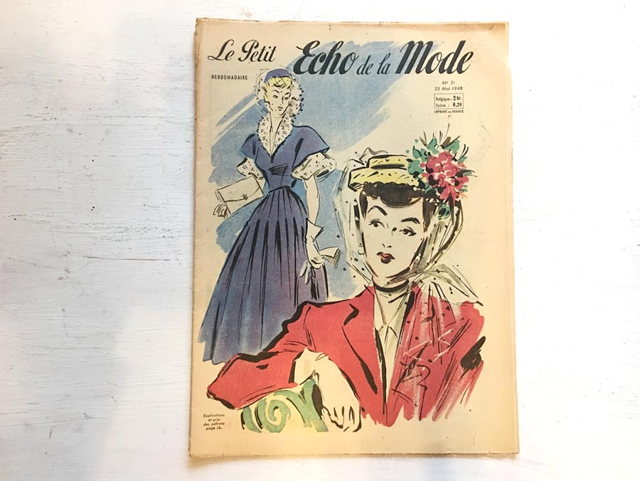 Le Petit Echo De La Mode1948年gh-176