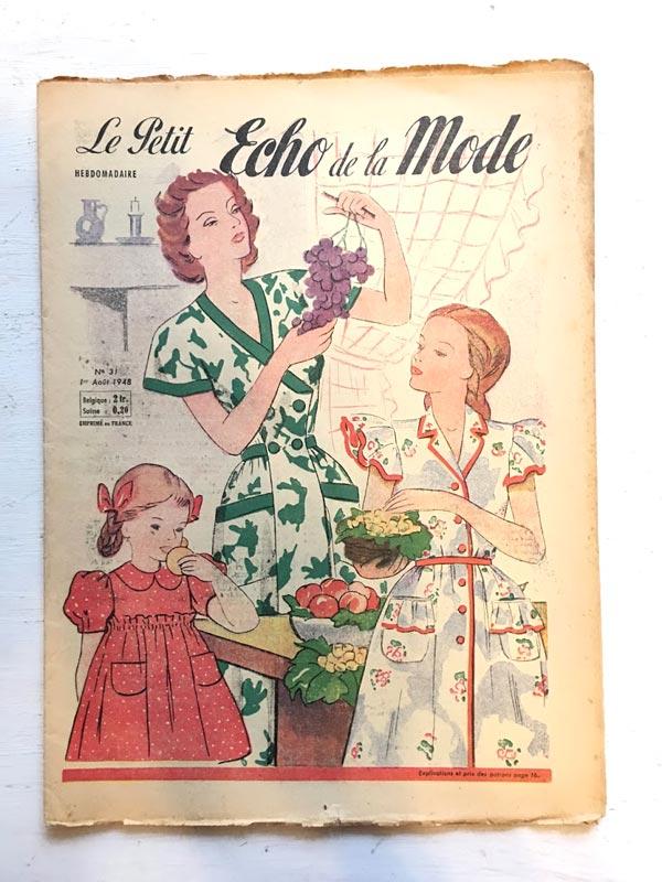 Le Petit Echo De La Mode1948年 gh-177