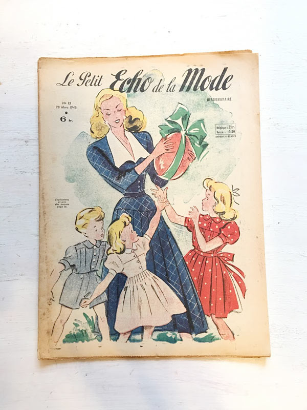 Le Petit Echo De La Mode1948-49年 gh-178