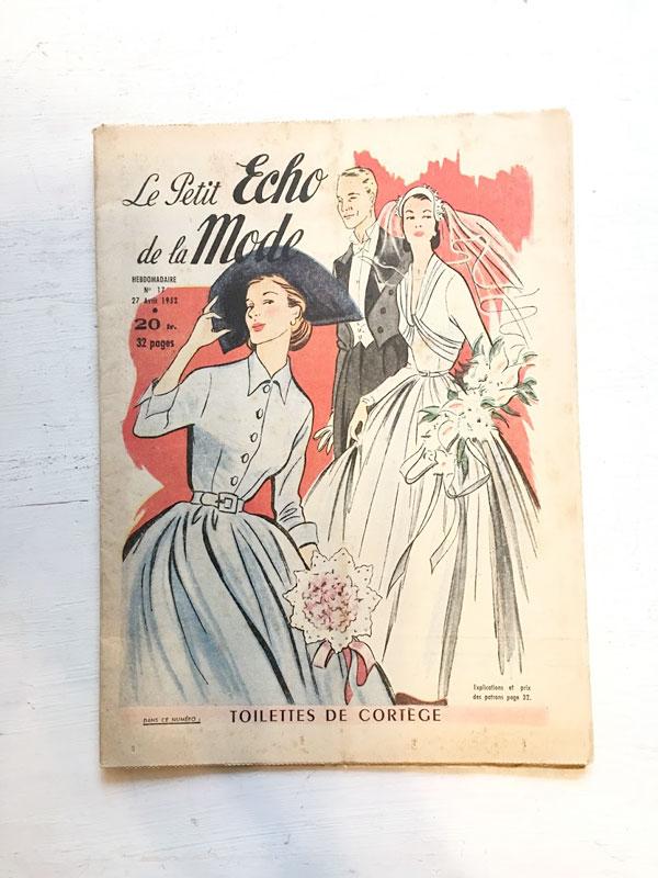Le Petit Echo De La Mode1952年 gh-179