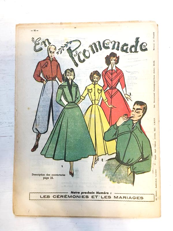 L'ILLUSIRE de la Mode 1948年 gh-180
