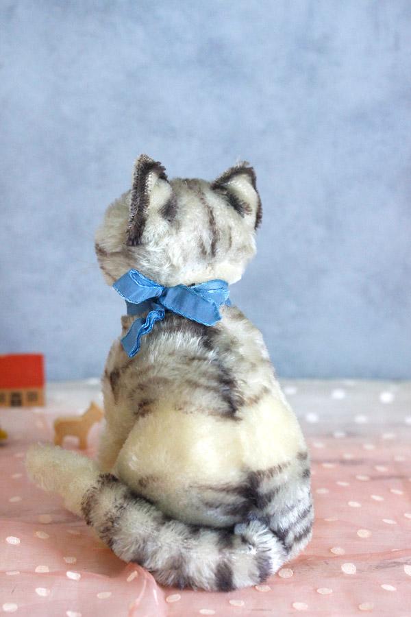 ヴィンテージシュタイフ猫 Steiff Tabby 20cm gt-750