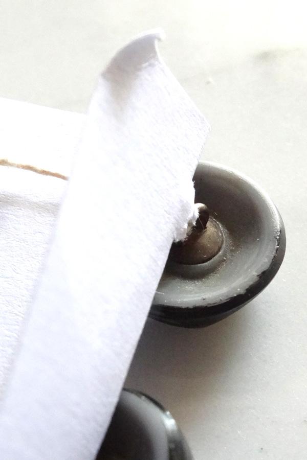 アンティークモノトーンガラスボタン1.8cm gs-1211