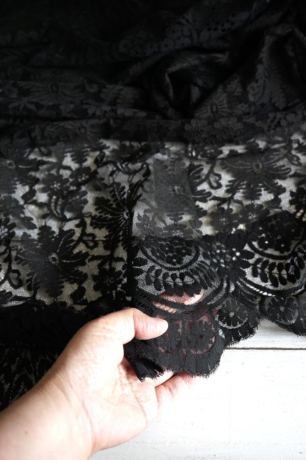 アンティーク大判シルクシャンティーレース195×192cm gla-1012