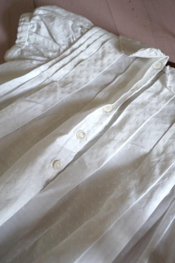 ヴィンテージコットンベビー用ドレス 1930-40年代頃 gd-179