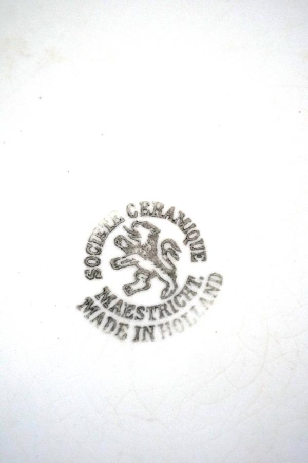 アンティークのMaestrichtマーストニヒトの手洗いボールW42×14cm 1930年代頃 gc-758